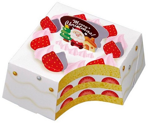 ↑ ビッグチロル<クリスマスケーキ>