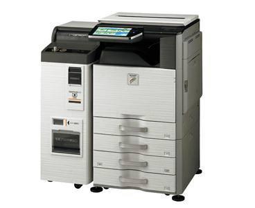 ↑ マルチコピー機(MX-3610DS)