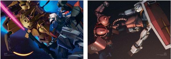 ↑ Vol.1には名場面のCG画やキャラクターデザイナーによる新規イラストが収録
