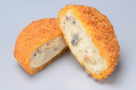↑ ファミマプレミアム クリームコロッケ(ポルチーニ茸とトリュフ入り)
