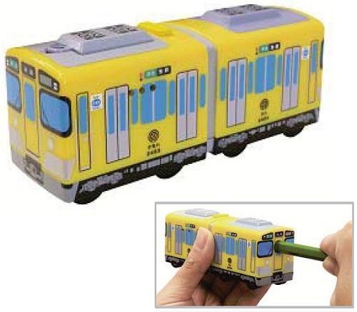 ↑ 新2000系 電車型えんぴつ削り