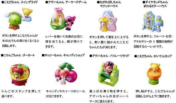 ↑ こえだちゃん(全8種類)