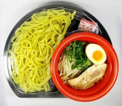 ↑ ほん田監修豚骨魚介つけ麺(ゆず風味)