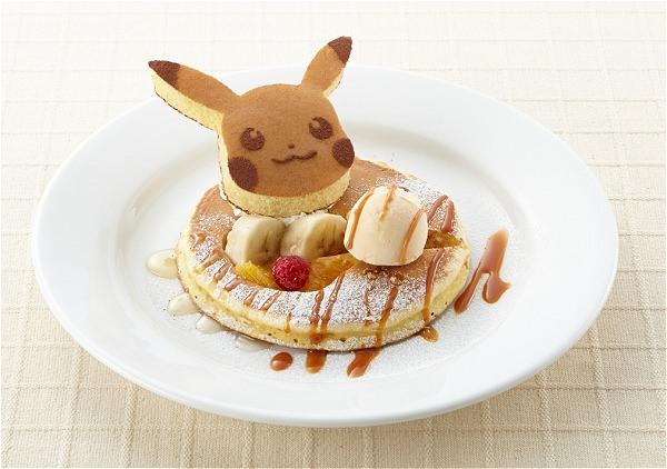 ↑ ポケモンパンケーキ
