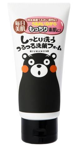 ↑ しっとり洗う つるつる洗顔フォーム