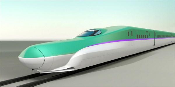 ↑ 北海道新幹線用車両H5系