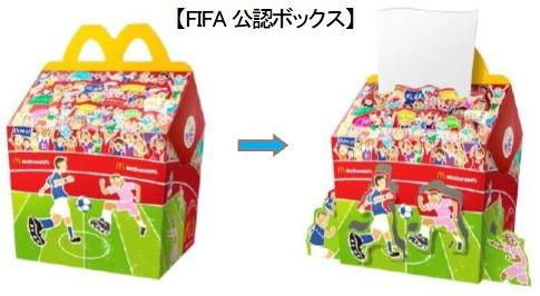 ↑ FIFA公認ボックス