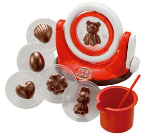 ↑ くるくるチョコレート工場