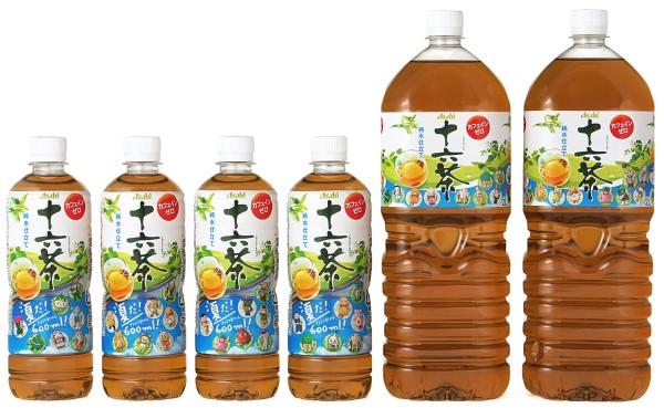 ↑ アサヒ 十六茶 ご当地キャラクターラベル