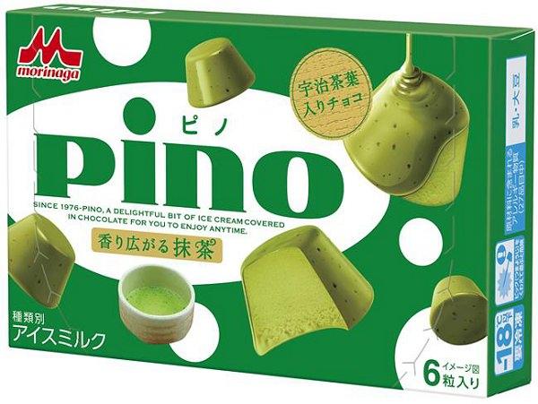 ↑ ピノ 香り広がる抹茶