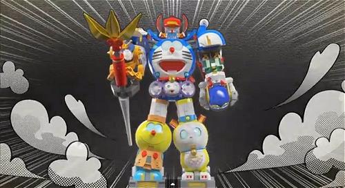 ↑ 超合金 超合体!SF ロボット 藤子・F・不二雄キャラクターズのプロモーション映像(公式)。