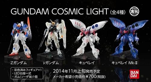 ↑ GUNDAM COSMIC LIGHTプロモーション映像(公式)。