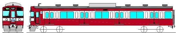 ↑ 赤色に塗色変更を施した西武9000系車両「幸運の赤い電車(RED LUCKY TRAIN)」完成イメージ