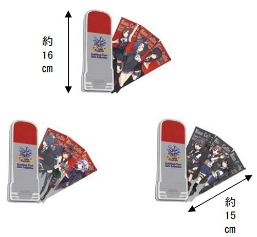 ↑ G賞-魚雷型缶ケース&しおりセット