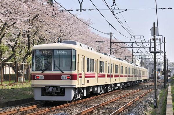 ↑ 新京成線従来デザイン