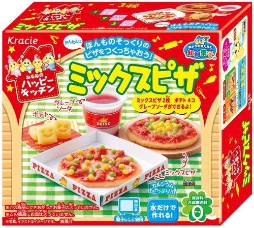↑ ねるねのハッピーキッチン ミックスピザ
