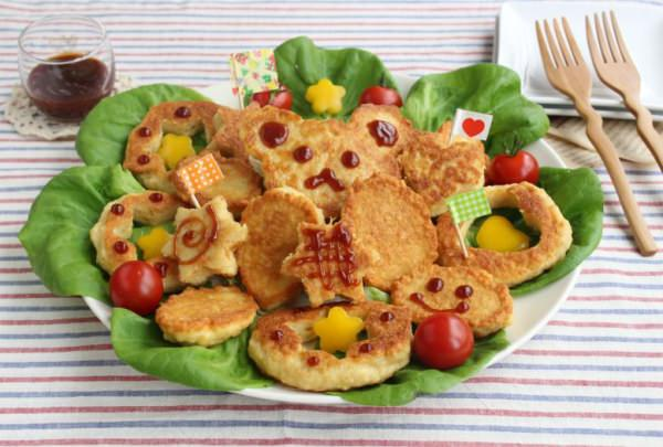 ↑ お肉マジック ひき肉・卵でチキンナゲット・利用サンプル