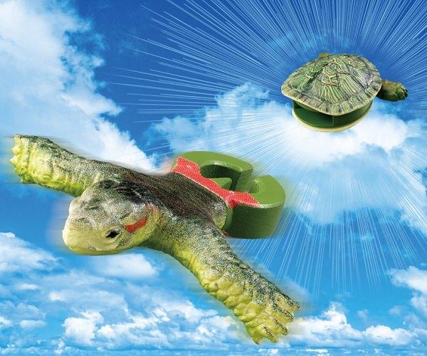 ↑ ガシャポン「あいつ、亀やめるってよ」イメージ。物凄くシュールである