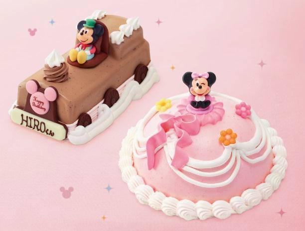 ↑ 'ミッキー'Choo-Chooトレインとドレスアップ'ミニーちゃん'