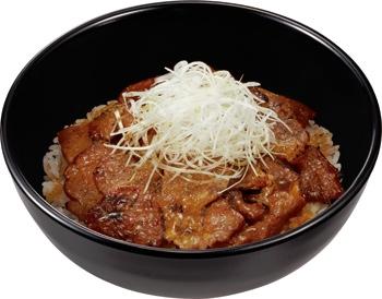 ↑ 炭火豚丼