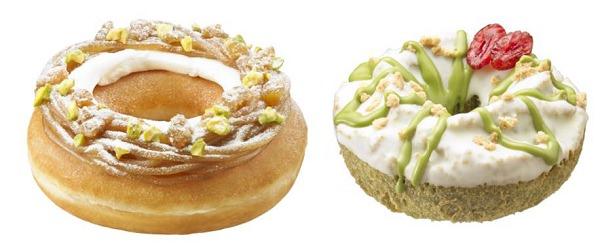 ↑ 左から和栗モンブラン、抹茶ホワイトチョコケーキ