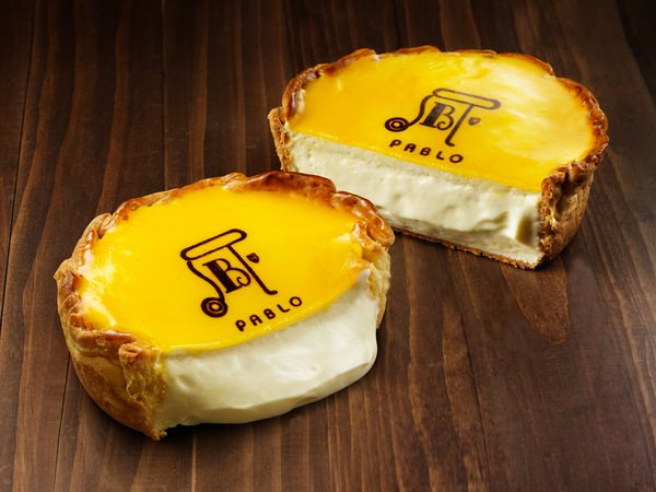 ↑ ベースとなったパブロのチーズタルト