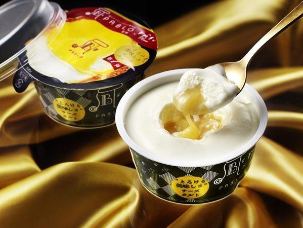 ↑ 今回発売される「PABLO とろける美味しさチーズタルト」