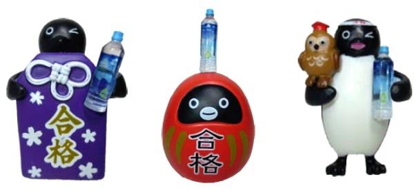 ↑ 「落ちないペンギンマグネット」おまけ付き「合格祈願ボトル」