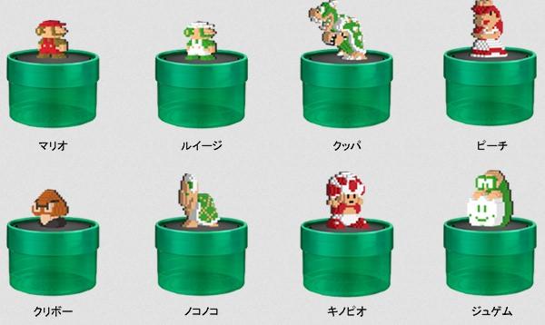↑ フィギュアのラインアップは全部で8種類