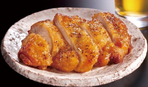 ↑ やみつき鶏