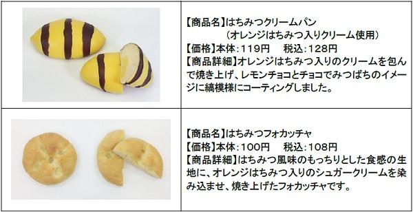 ↑ はちみつパンシリーズ一覧