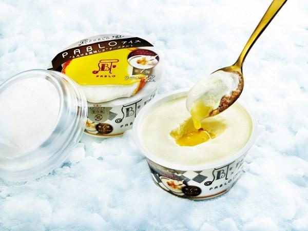 ↑ PABLOアイス とろける美味しさチーズタルト