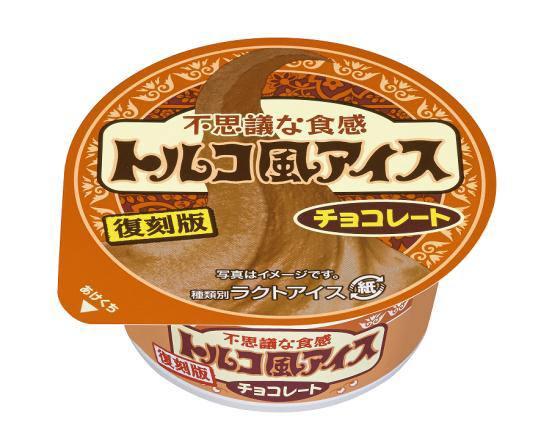 ↑ トルコ風アイス チョコレート