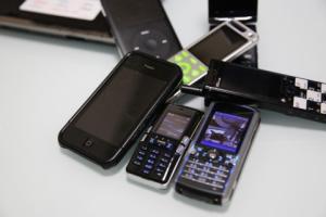複数の携帯電話